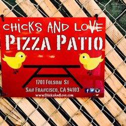 Photo Of Chicks And Love Pizza Patio   San Francisco, CA, United States ...