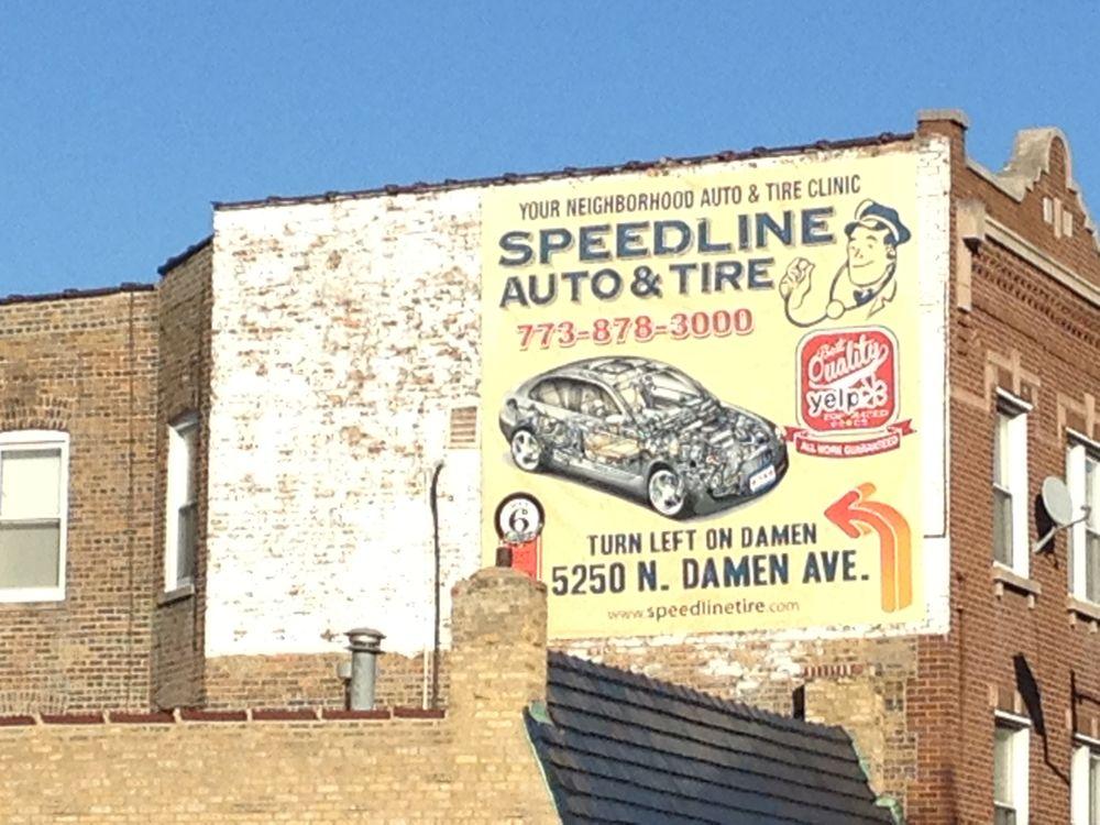 A Speedline Tire & Auto Service