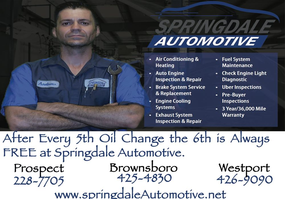 Springdale Automotive: 8005 Brownsboro Rd, Louisville, KY