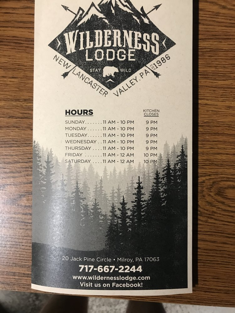The Wilderness Lodge: 20 Jack Pine Cir, Milroy, PA