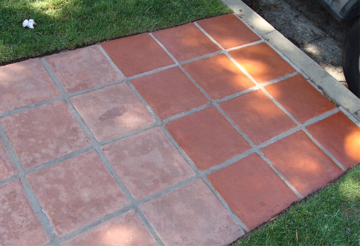Alex saltillo tile walkway cleaning  - Yelp