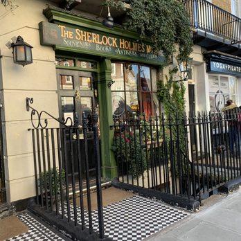 The Sherlock Holmes Museum - 221B Baker Street, Marylebone, London