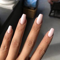 Photo of Perfection Nails Salon - Seattle, WA, United States. Soft coffin acrylic