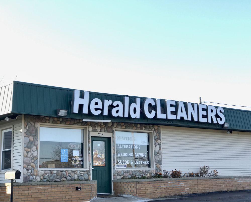Herald Dry Cleaners: 571 N Lapeer Rd, Lake Orion, MI