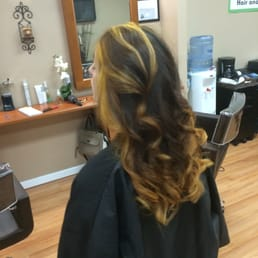 Photo Of Zen Hair And Beauty Salon Bethpage Ny United States Color