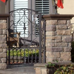 Photo Of Mares Wrought Iron Ventura Ca United States Small Entry Gate