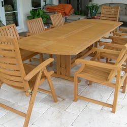 Photo Of Teak Furniture Refinishing   Delray Beach, FL, United States