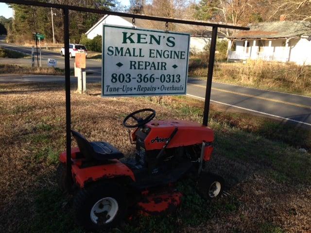 Ken's Small Engine Repair: 1620 Springsteen Rd, Rock Hill, SC