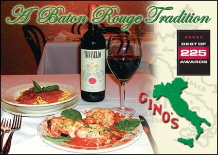 Gino's Restaurant: 4542 Bennington Ave, Baton Rouge, LA