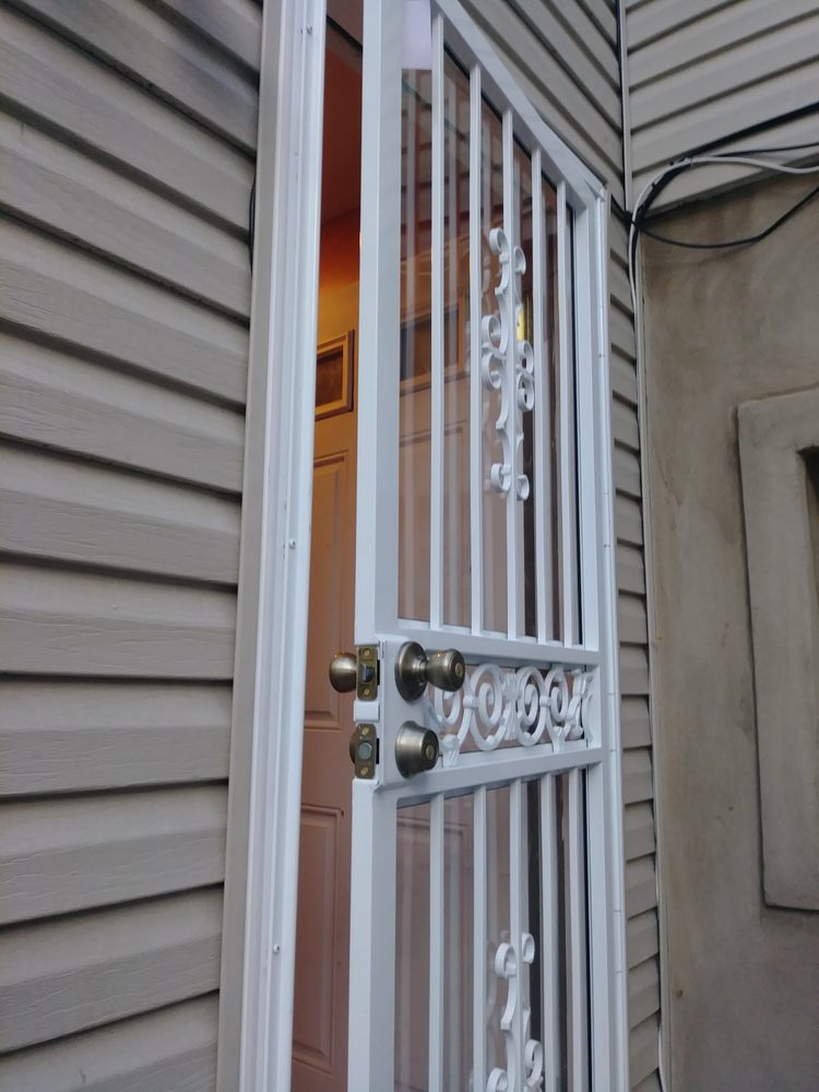 Wooded Exterior Door Trim Replace With Pvc Molding Along With Storm
