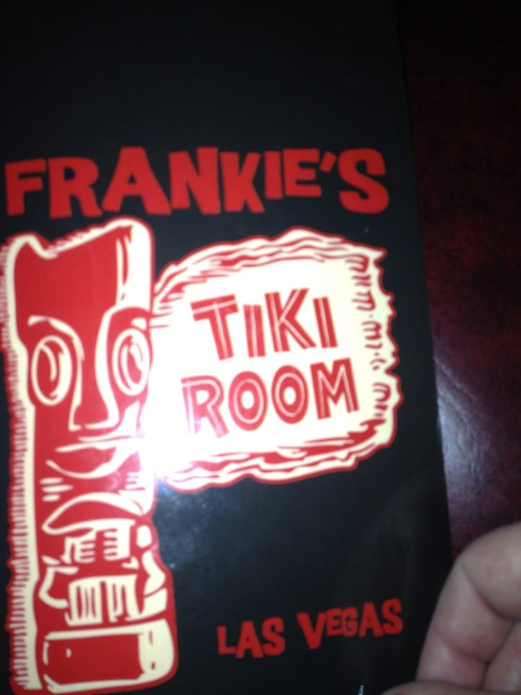 Frankie S Tiki Room Menu