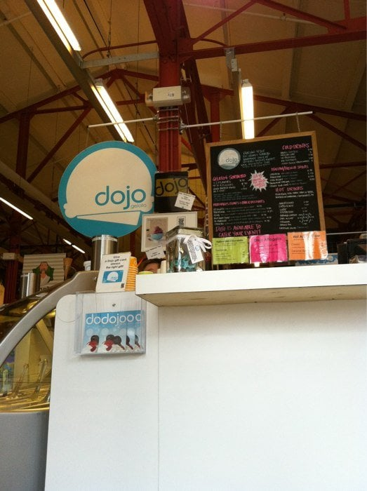 Photo of Dojo Gelato - Cincinnati, OH, United States. Counter