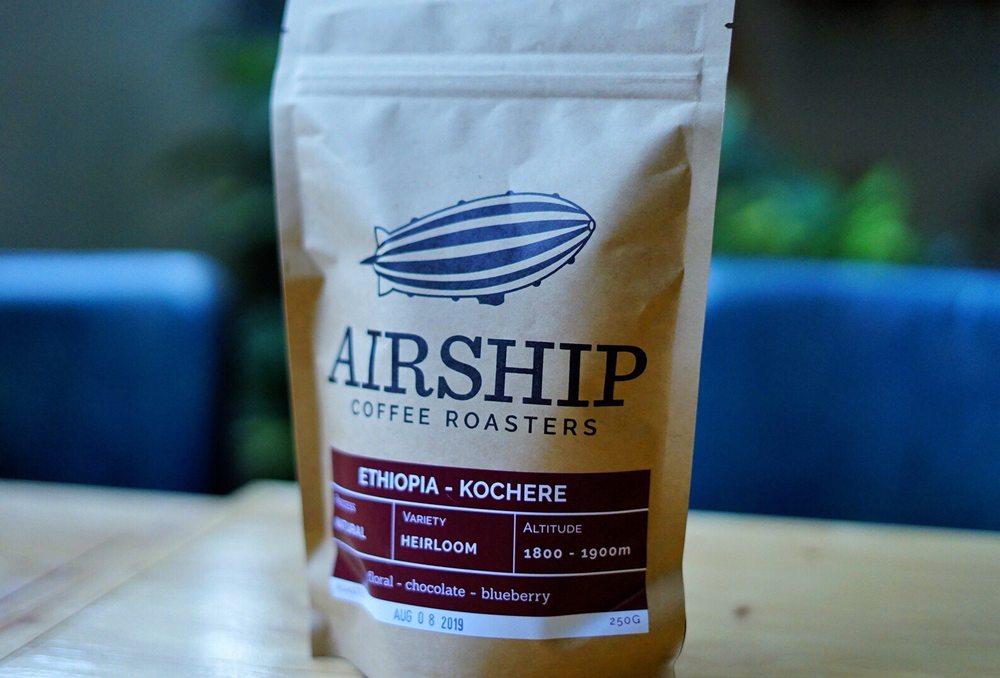 Airship Coffee: 1000 SE 5th St, Bentonville, AR
