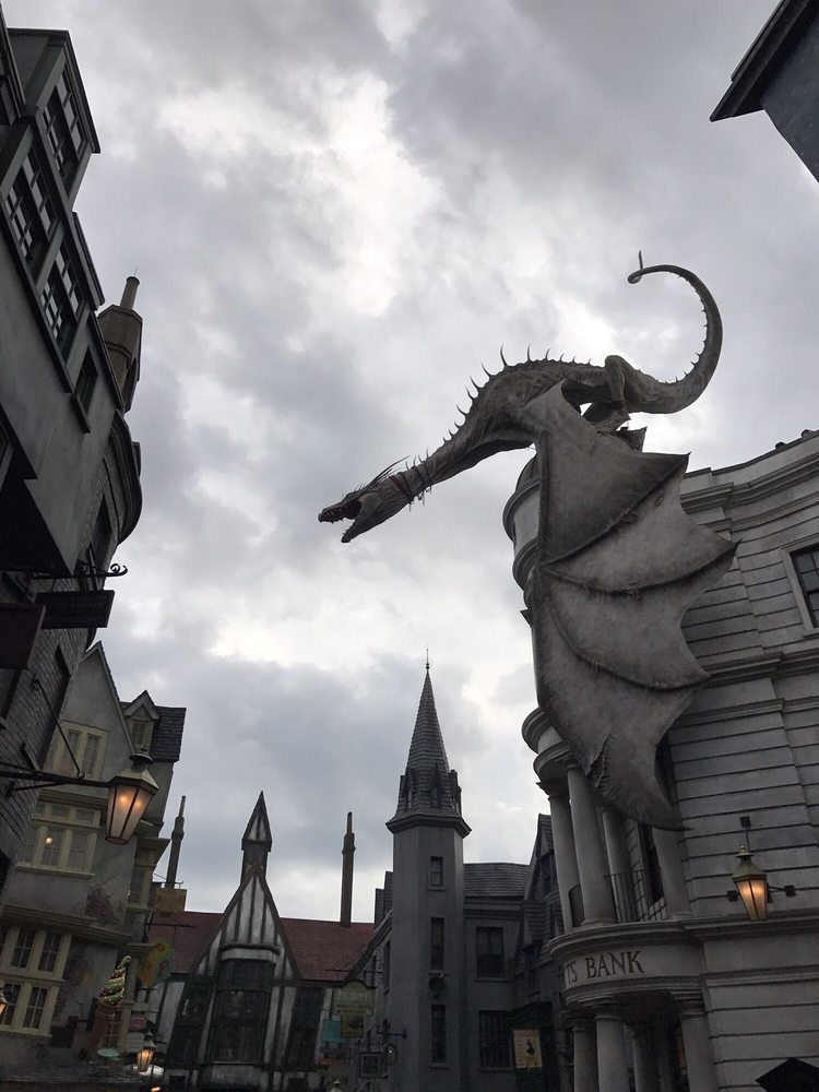 Diagon Alley: Exposition Blvd, Orlando, FL