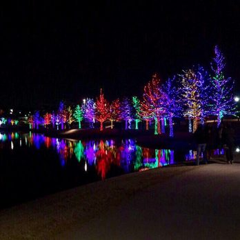 Vitruvian Park Christmas Lights