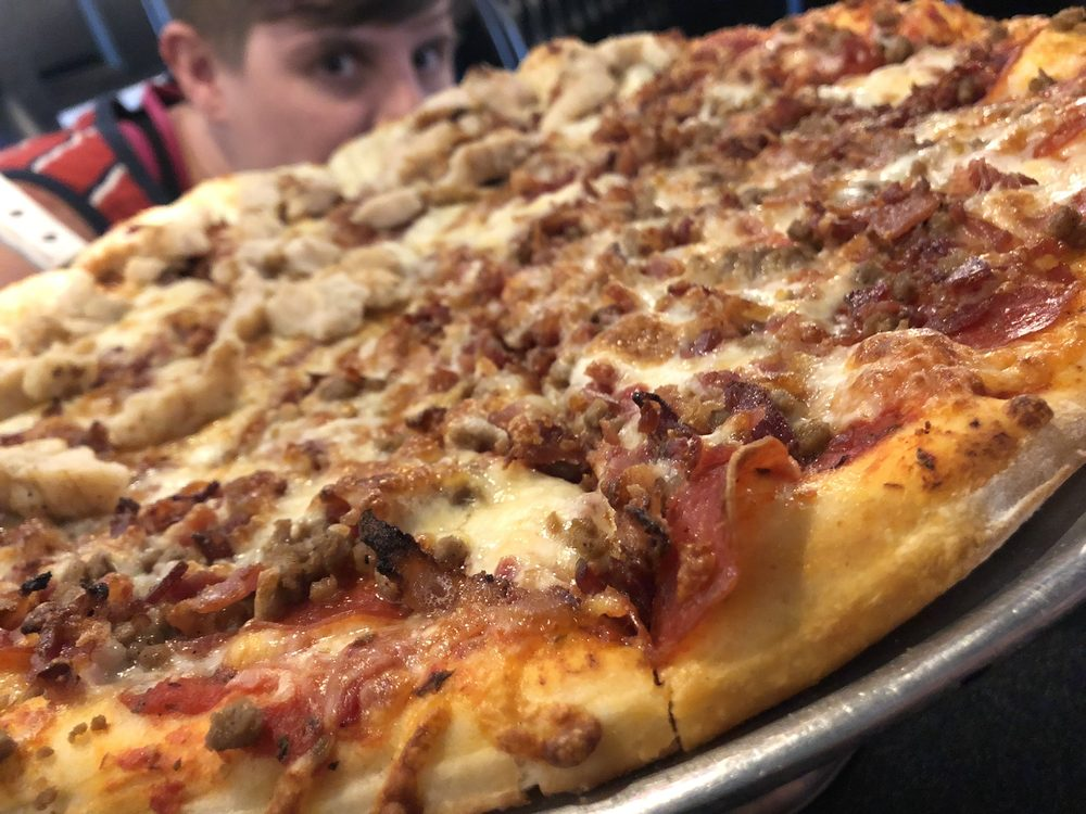 Two Rivers Pizza: 1094 Ridgeway Ave, Falmouth, KY