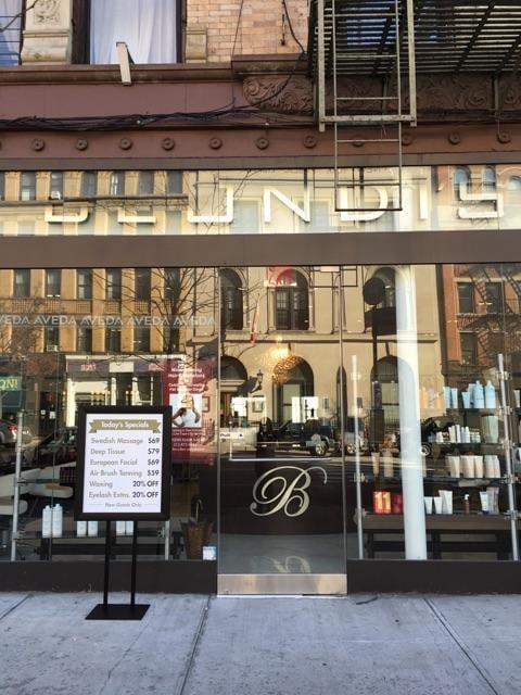 Blondi's Spa: 447 Amsterdam Ave, New York, NY