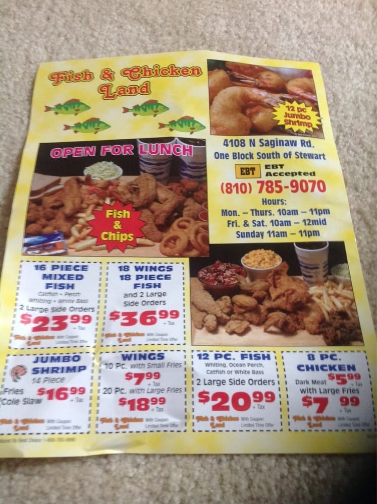 Food from Fish and Chicken Land
