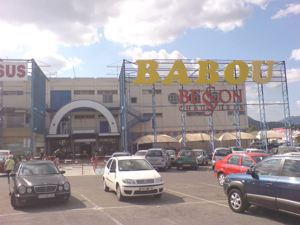 Babou magasin discount centre commercial grand var la for Babou telephone