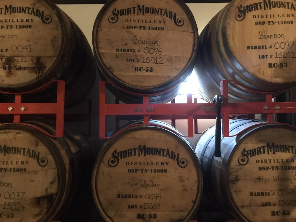 Short Mountain Distillery: 8280 Short Mountain Rd, Woodbury, TN