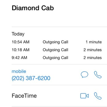 Diamond cab 101 reviews taxi minicabs 1100 q st nw for Southern living phone number