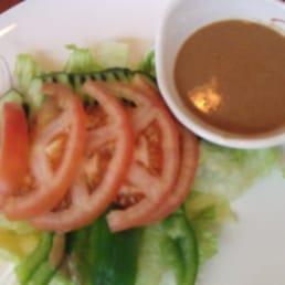 Hinode Japanese Restaurant - Piermont, NY, United States. salad