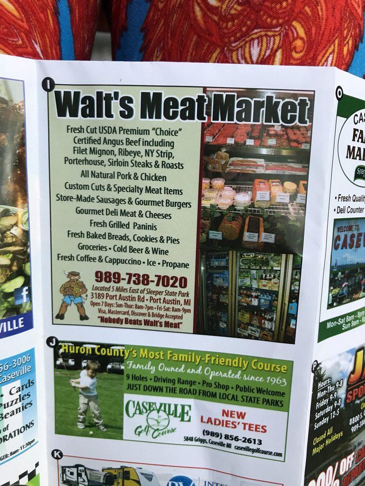 Walts Meat Market: 3189 Port Austin Rd, Port Austin, MI