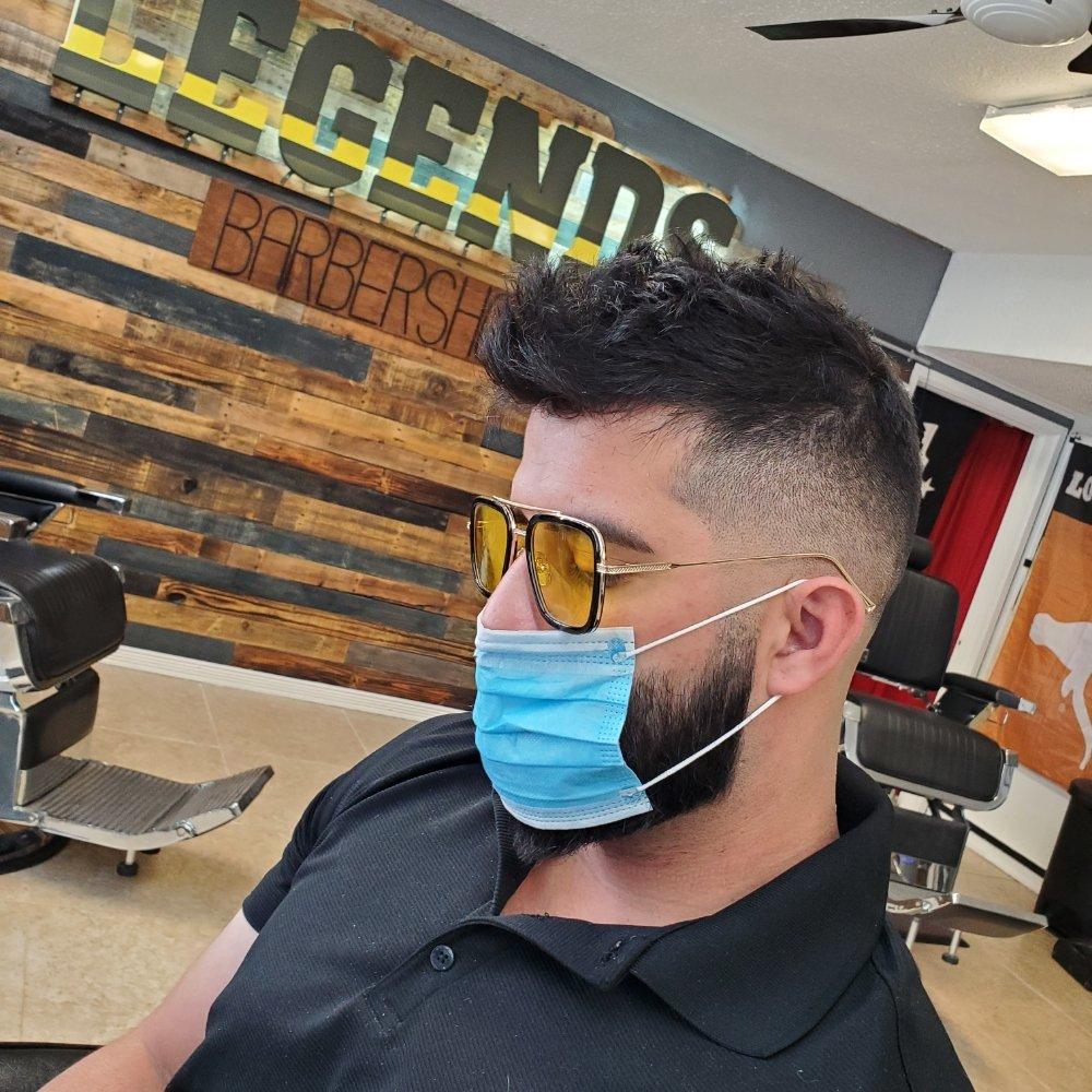 Legends Barbershop: 1624 N 10th St, McAllen, TX