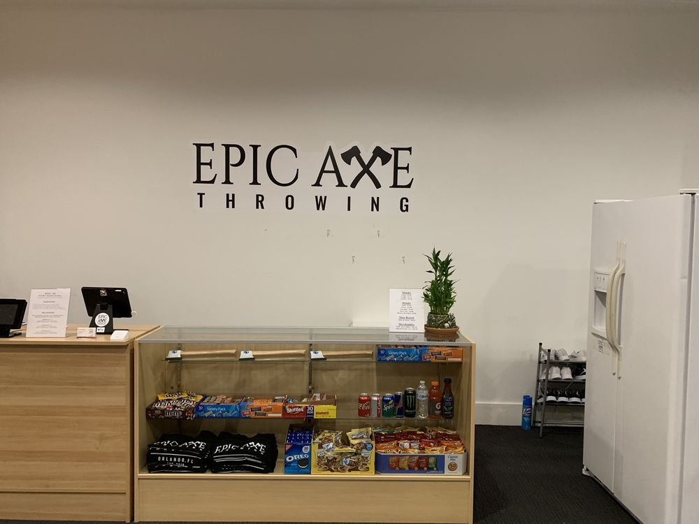 Epic Axe Throwing: 47 E Robinson St, Orlando, FL