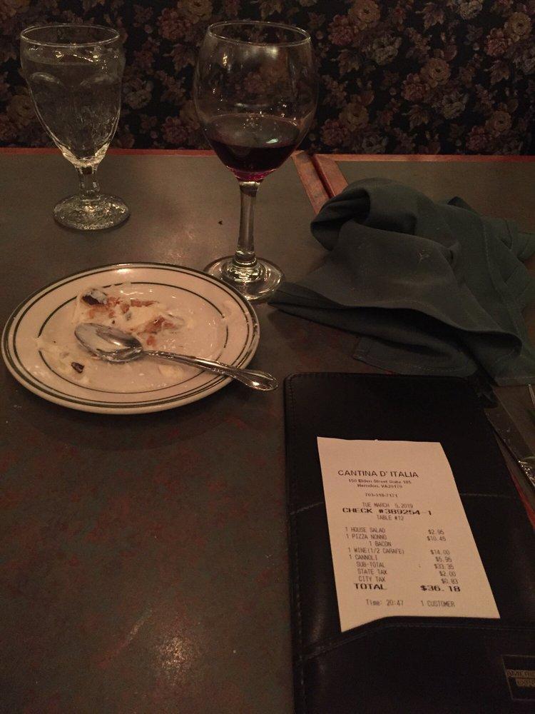 Cantina D'italia: 150 Elden St, Herndon, VA