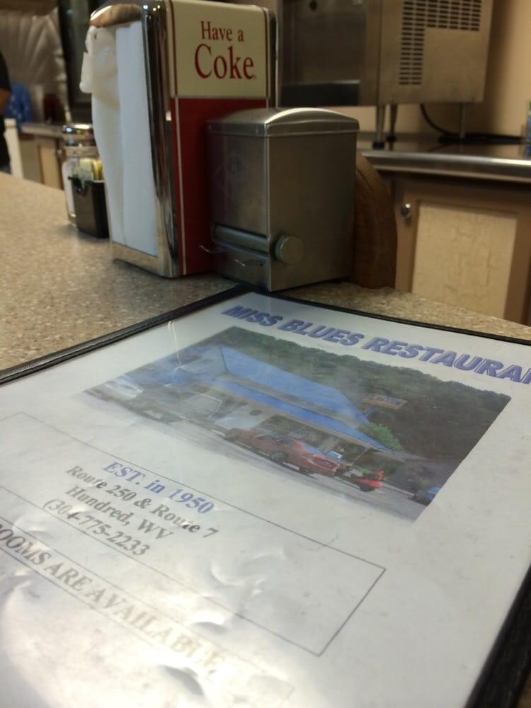 Miss Blue's Restaurant: RR 250, Hundred, WV