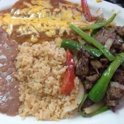 Good Photo Of El Patio Cafe   Edinburg, TX, United States. Fajita Lunch Special