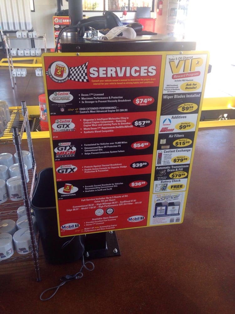 How Much Should An Oil Change Cost >> Oil Change Rates Secret Cellar Movie