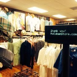 Photo of My Cuban Store - Miami, FL, United States. Guayabera selections