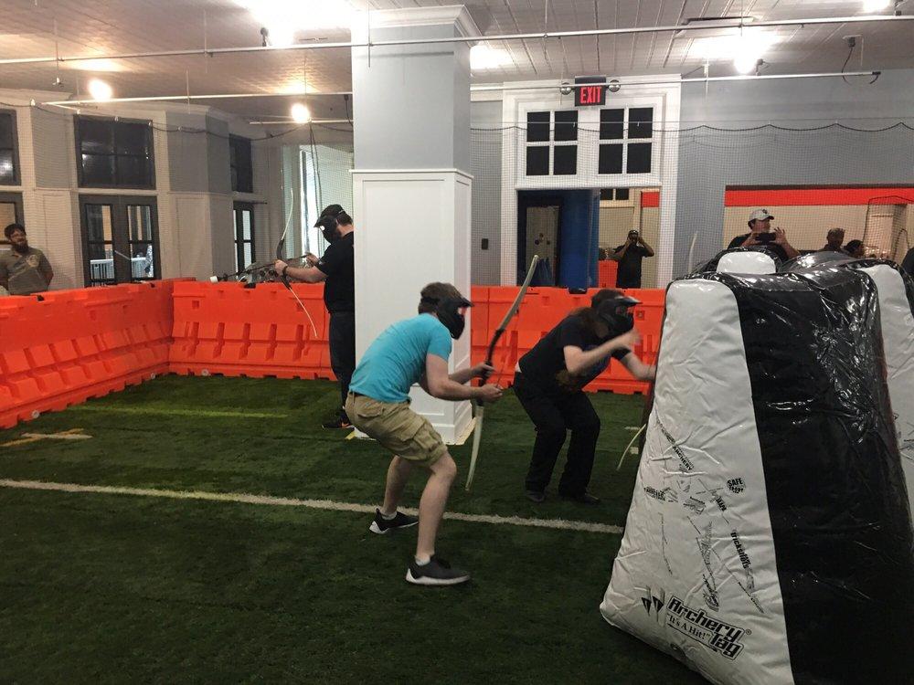 Knockerball Archery Tag Indianapolis