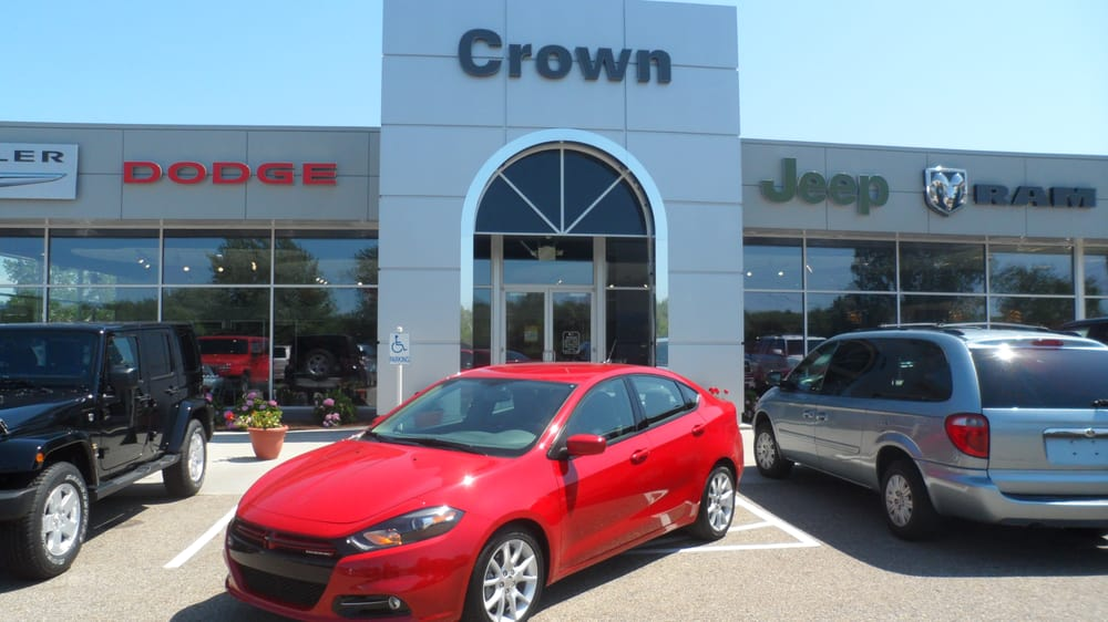 Crown Motors Chrysler Dodge Jeep Ram Car Dealers 1127 Central Ave Holland Mi United