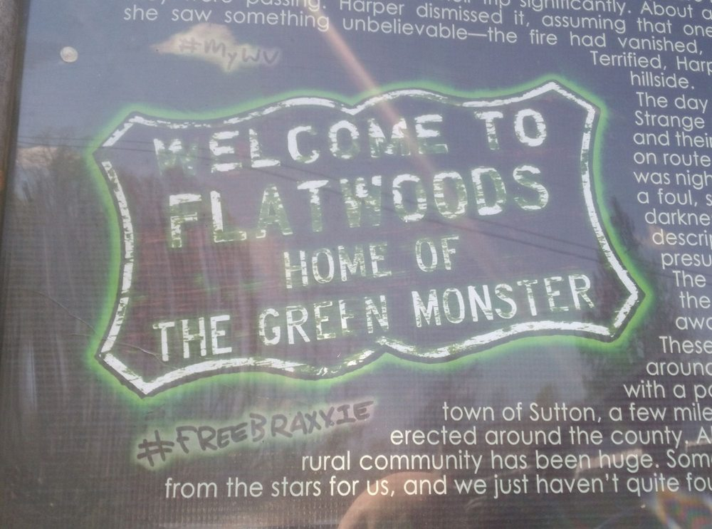 Flatwoods Monster Chair: 5 Doctors Ln, Flatwoods, WV