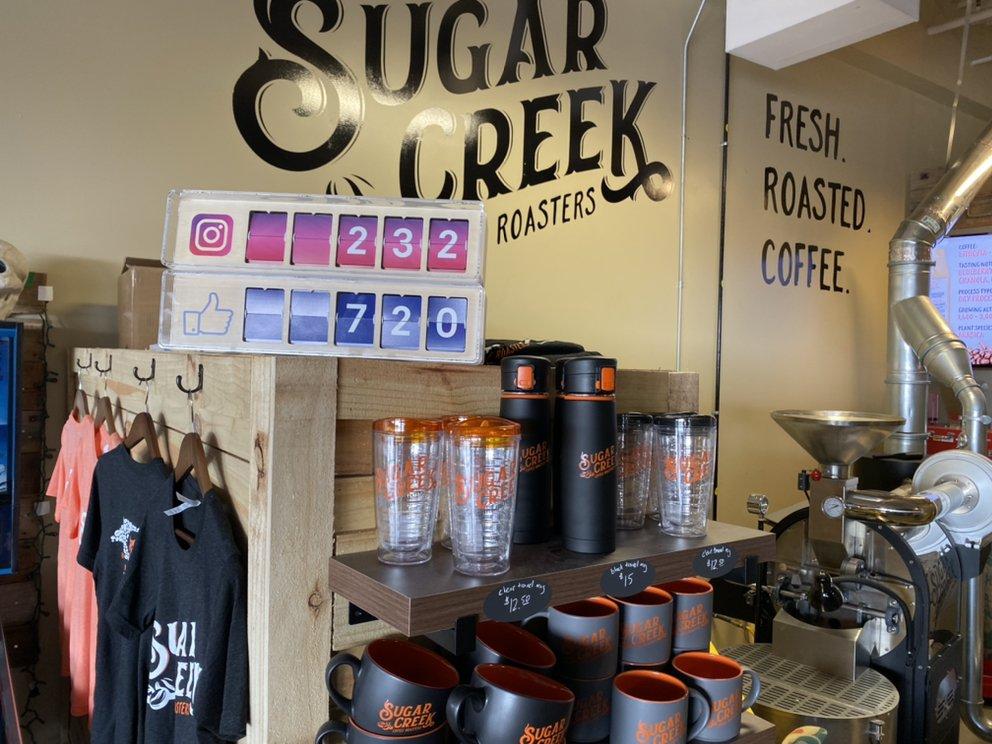 Sugar Creek Coffee Roasters: 13717 E Independence Blvd, Lake Park, NC