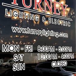 Turney Lighting Fixtures Equipment 2501 Nw