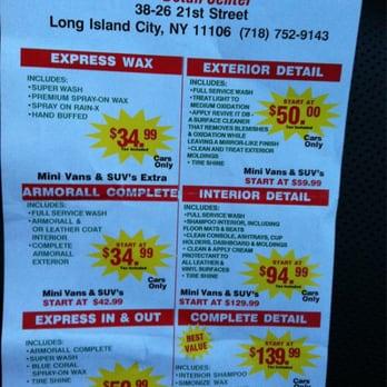 Hour Car Wash Long Island City