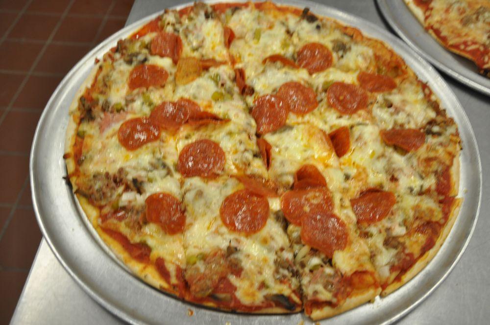 Roma's Pizza: 121 E Bethalto Dr, Bethalto, IL