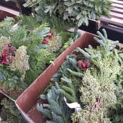 Photo Of Cirianu0027s Farmers Market   Omaha, NE, United States. Festive  Wreaths And