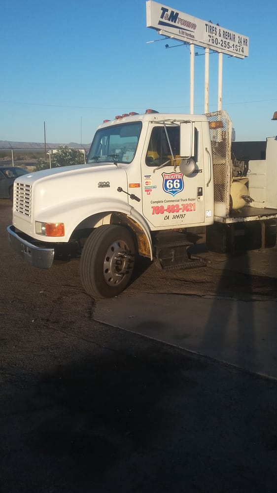 Route 66 Road Service: 73150 Baker Blvd, Baker, CA