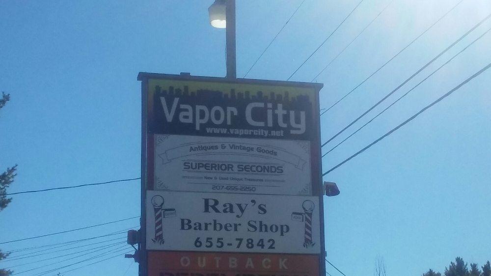 Vapor City: 1261 Roosevelt Trl, Raymond, ME