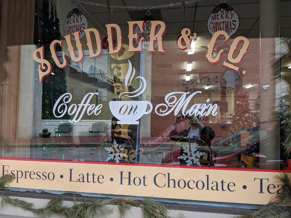 Scudder & Company Coffee on Main: 201 W Main St, Washington, MO