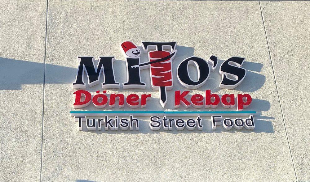 Food from Mito's Döner Kebap