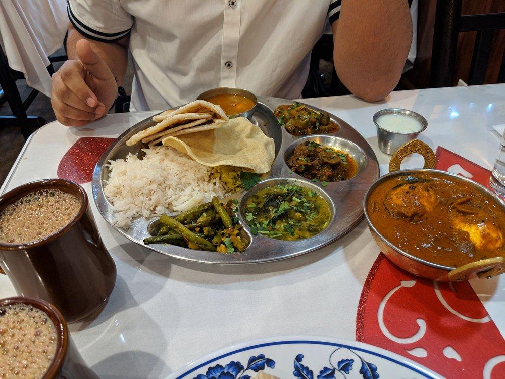 Egg Curry Thali Yelp