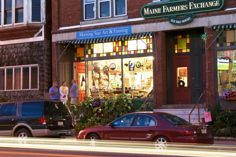 Morning Star Art & Framing: 422 Main St, Presque Isle, ME