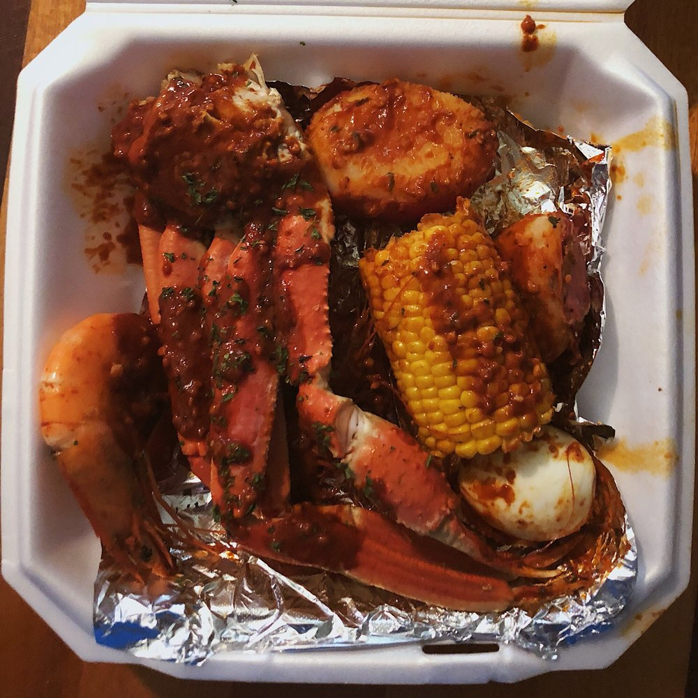 Crustaceans Boil House: 1610 E I-10 Frontage Rd, Beaumont, TX