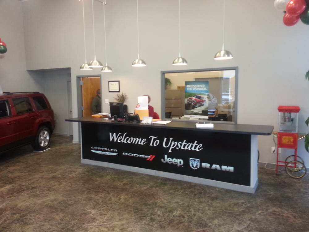 Upstate Chrysler Dodge Jeep & Ram: 125 Prospect St, Attica, NY